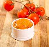 Mexican sauce Royalty Free Stock Images