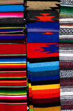 Mexican scarfs Royalty Free Stock Photo