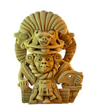 Mexican sculpture Royalty Free Stock Photo