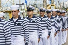 Mexican Seamen Cuauhtémoc Royalty Free Stock Photo