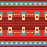 Mexican seamless ethnic geometric pattern Royalty Free Stock Photography