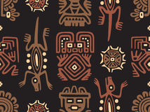 Mexican Seamless Pattern Royalty Free Stock Photo