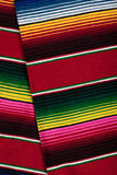 Mexican serape as a background Royalty Free Stock Photos
