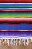 Mexican serape blanket background vertical copy space Royalty Free Stock Photography