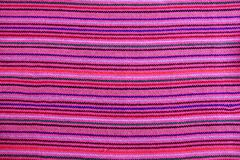 Mexican serape vibrant pink macro fabric texture Royalty Free Stock Image