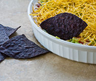 Mexican Seven Layer Dip Stock Images