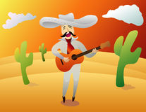 A mexican singer Royalty Free Stock Photo