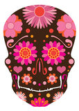 Mexican Skull Art Vector Illustration Royalty Free Stock Photography