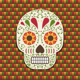Mexican skull decoration Stock Photography