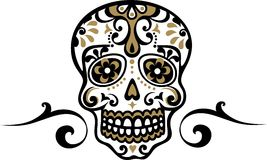 Mexican skull Stock Photos