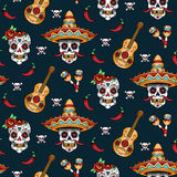 Mexican skulls Stock Photos