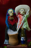 Mexican skulls Stock Images