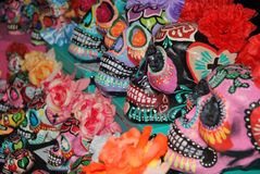 Mexican skulls Royalty Free Stock Image