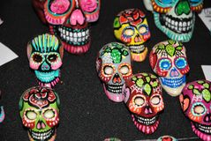 Mexican skulls Royalty Free Stock Images