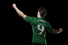 Mexican soccer player Royalty Free Stock Photography