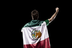 Mexican soccer player Royalty Free Stock Images