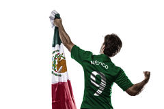 Mexican soccer player Royalty Free Stock Photo