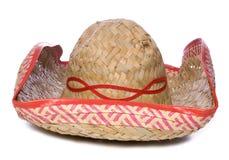 Mexican sombrero cutout Royalty Free Stock Photos