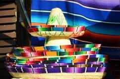 Mexican sombrero hats Stock Photo