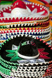 Mexican sombreros for sale in Cabo San Lucas Stock Photos