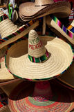 Mexican sombreros Royalty Free Stock Photo