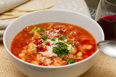Mexican soup Royalty Free Stock Images