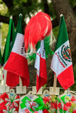 Mexican Souvenirs. In street market stock images