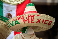 Mexican Souvenirs. In street market royalty free stock photography