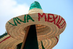 Mexican Souvenirs. In street market royalty free stock images