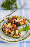 Mexican spicy vegetable salsa Royalty Free Stock Photos