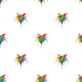 Mexican star pinata pattern Stock Photo