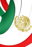 Mexican States Standard Royalty Free Stock Images