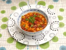 Mexican stew Royalty Free Stock Photo