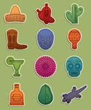 Mexican stickers Stock Image
