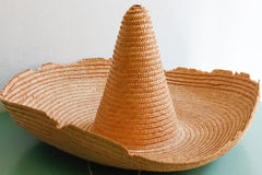 Mexican straw hat Stock Photography