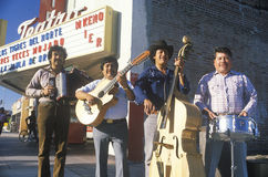 Mexican street musicians Stock Photography