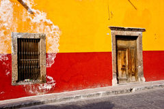Mexican Street Scene Stock Image