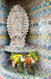 Mexican street shrine Stock Photo