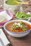 Mexican style beef stew Royalty Free Stock Image