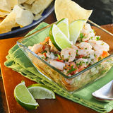 Mexican Style Ceviche Stock Photo