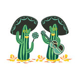 Mexican style concept. Stock Photos