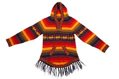 Mexican style knitted jacket Royalty Free Stock Image