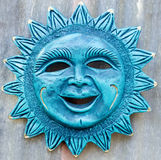 Mexican Styled Sun Plaque Stock Photography
