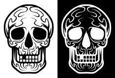 Mexican sugar skull, Dia de los Muertos icons set– stock illustration– stock illustration. Neditable file Royalty Free Stock Images