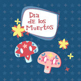 The Mexican sugar skulls - Day of the Dead Royalty Free Stock Photos