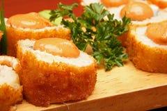 Mexican sushi royalty free stock photos