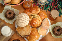 Mexican sweet bread Royalty Free Stock Photos
