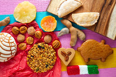 Mexican sweets and pastries cajeta tamarindo Stock Photography