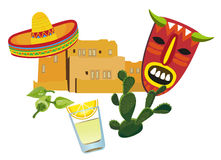 Mexican Symbols Royalty Free Stock Images