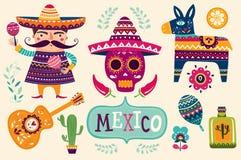 Mexican symbols Stock Photo